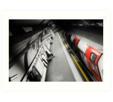 Belsize Park Tube Station Art Print
