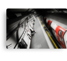 Belsize Park Tube Station Canvas Print
