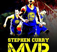 Stephen Curry MVP by dcrepublic