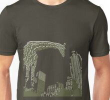Huge giraffe animal in the big city  Unisex T-Shirt
