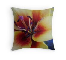 Flaming Passion Throw Pillow