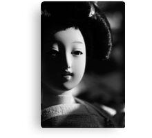 Smiling geisha Canvas Print