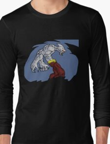 of dreams and nightmares: when monsters attack... Long Sleeve T-Shirt