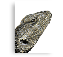 ©NS Lizard Portraid IIIADTMM. Canvas Print