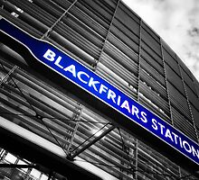 Blackfriars Tube Station by AntSmith
