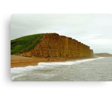 A Beautiful Cliff Canvas Print