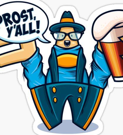 Prost, Y'all Sticker