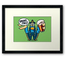 Prost, Y'all Framed Print