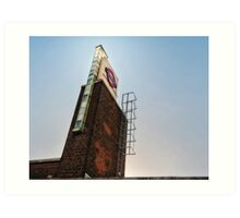 Boston Manor Tube Station Art Print