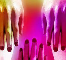 Radiant Hands by CarolM