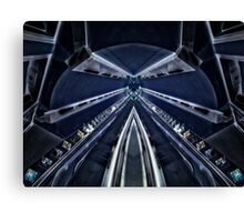 Bounds Green Tube Station Canvas Print