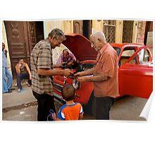 Havana - Men at Work Poster