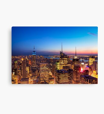All That Glitters Is Gold - NYC Skyline Canvas Print