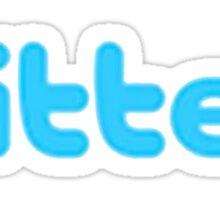 Twitter or Titter? Sticker