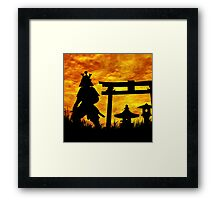 Guardian of the Gate Framed Print