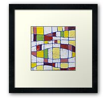 Colour Me Happy 2 Framed Print