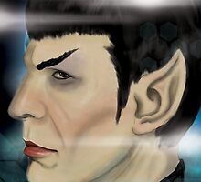 Everyone's Favorite Vulcan - Spock by AlexMathews