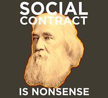 Lysander Spooner Social Contract Unisex T-Shirt