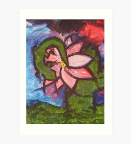 Southwest Flower Art Print
