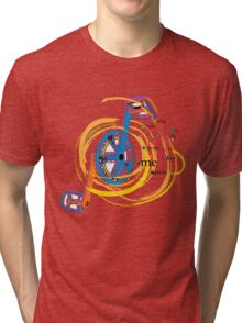 Going round in circles gets me places Tri-blend T-Shirt