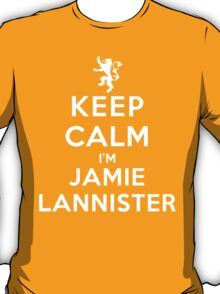 Keep Calm I'm Jamie Lannister (DS) T-Shirt