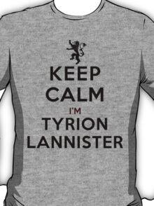 Keep Calm I'm Tyrion Lannister (LS) T-Shirt