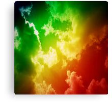 Candy Colored Sky Canvas Print