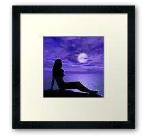Beach Beauty Framed Print