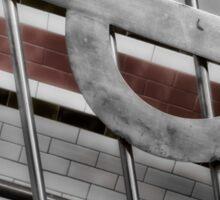 Arsenal Tube Station Sticker