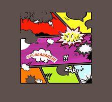 onomatopoeia boom zap splash pop art comic book  Unisex T-Shirt