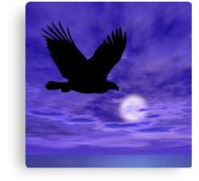 Eagle Flight Canvas Print