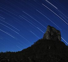 Stars over Mount Coonowrin by Meg Forbes