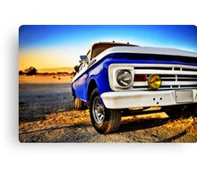 Parked Canvas Print