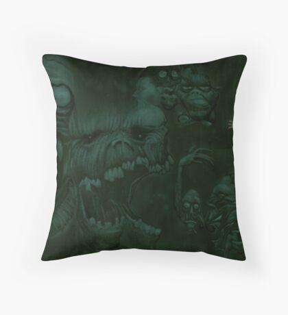In the Darkest Corners Throw Pillow