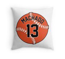 Manny Machado Baseball Design Throw Pillow