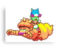 Asha (Monster World IV) - SEGA Genesis Sprite Canvas Print