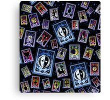 P3 Cards - sTARs Canvas Print