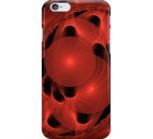 Red Parasite iPhone Case/Skin