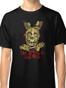 Five Nights At Freddy's Springtrap Classic T-Shirt