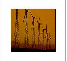 California Wind Farm by ChrisBaker