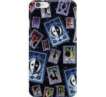 Persona Cards Scatter - Stars iPhone Case/Skin