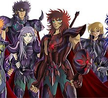 Saint Seiya by JeanMich4