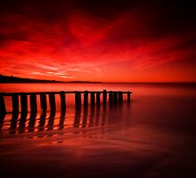 Victor Harbor Dawn by Paul Pichugin