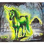 Radiant Unicorn by MaryDoodles