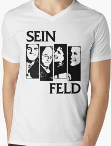 Black Flag / Seinfeld Tee Mens V-Neck T-Shirt