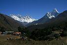 The Great Khumbu View by Richard Heath