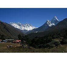 The Great Khumbu View Photographic Print