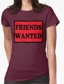 Friends Wanted (Black) T-Shirt