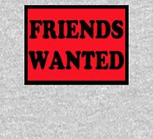 Friends Wanted (Black) Unisex T-Shirt