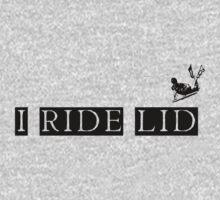 i ride lid black by ShaunRose
